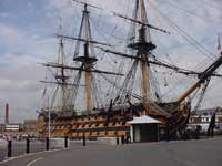 HMS Victory at Portsmouth's Historic Dockyard